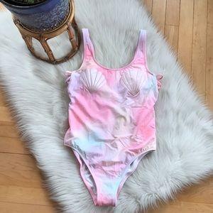 Victoria's Secret PINK onepiece shell bathing suit